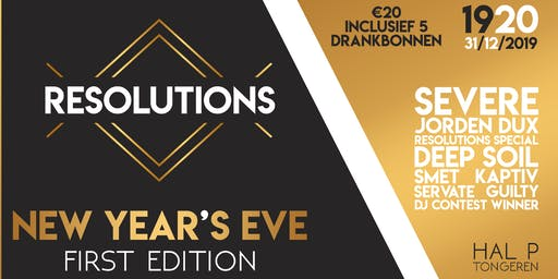 RESOLUTIONS - New Year's Eve 2020