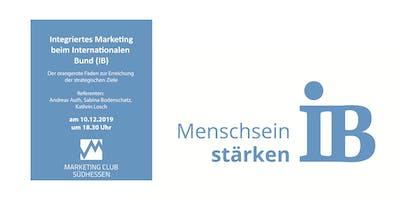 Integriertes Marketing beim Internationalen Bund (IB) – der orangerote Faden zur Erreichung der strategischen Ziele