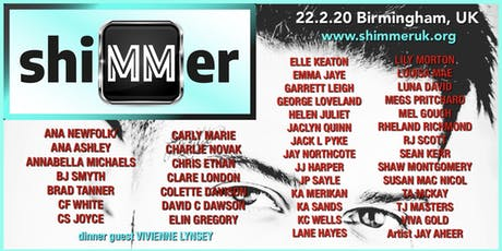 shiMMer 2020 MM UK Author Event tickets