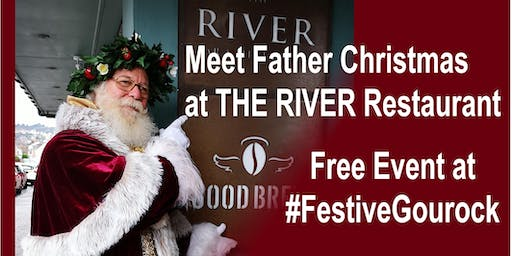 Meet Father Christmas with Festive Gourock