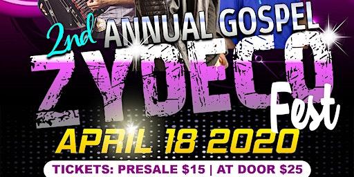 2nd Annual Gospel Zydeco Festival 2020