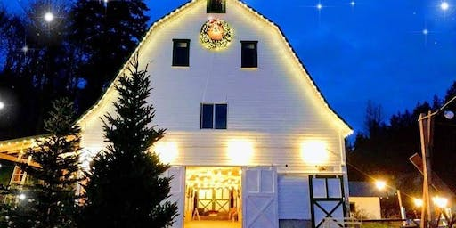 DEC 7th: Barn and Tree Lighting/Holiday Song Sing-A-Long