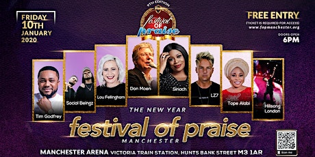 New Year FOP Manchester 2020 tickets