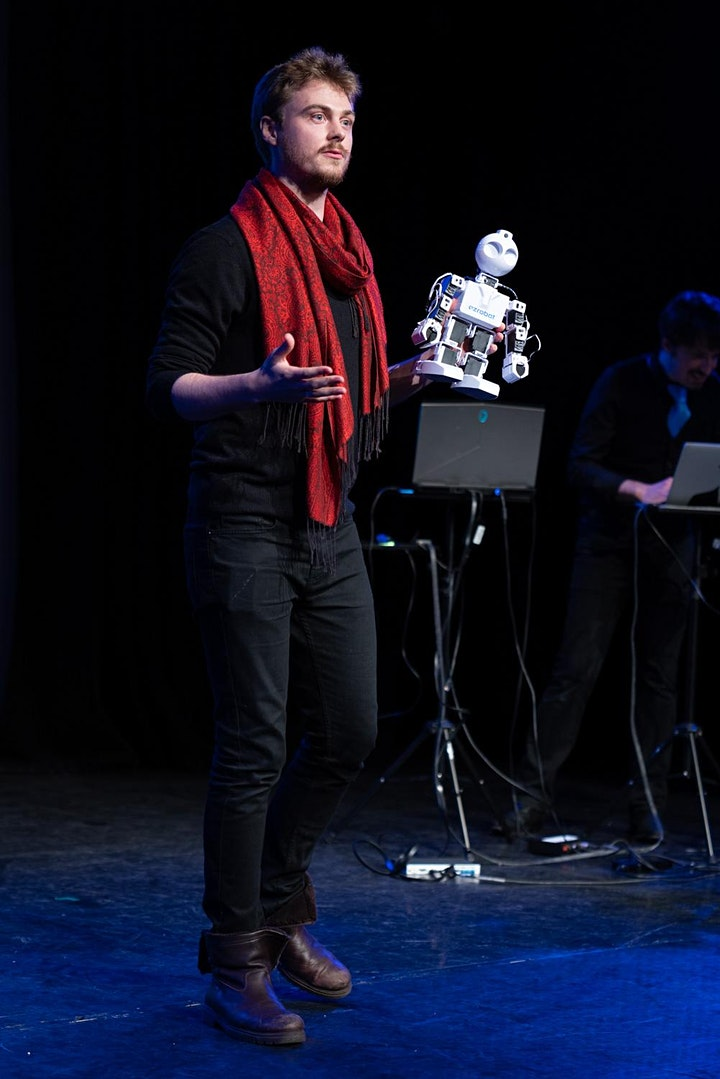 "ImproFestUK - Improbotics present ""Artificial Intelligence Improvisation"" image"