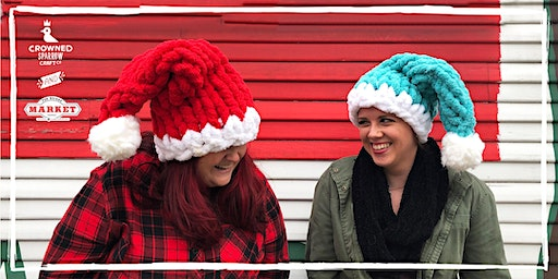 Crowned Sparrow Co. | Chunky Knit Santa Hats