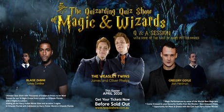 THE QUIZARDING QUIZ SHOW OF MAGIC & WIZARDS - MELBOURNE tickets