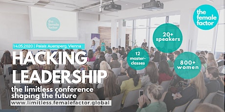 hacking leadership | the limitless conference by the female factor tickets