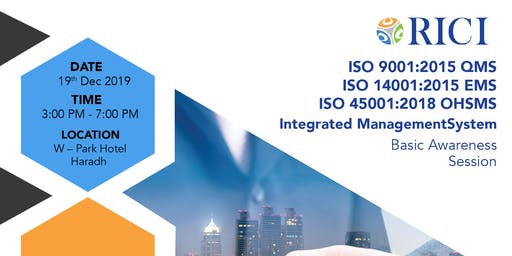 Integrated Management System Basic Awareness Session (ISO 9001,14001,45001)