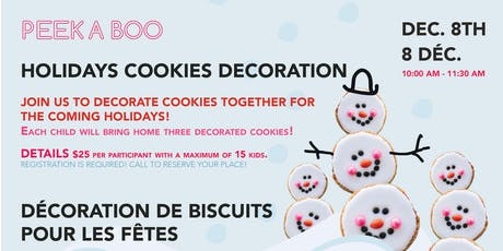 Holiday Cookies Decoration tickets