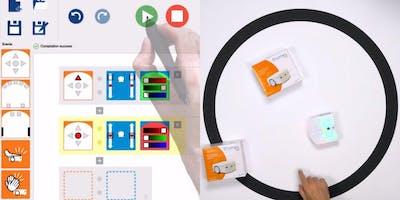 Decisioni Collettive e Robotica di sciame educativa con il robot Thymio 2° appuntamento