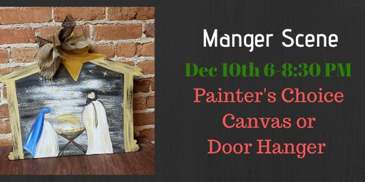 Manger Scene Painters Choice