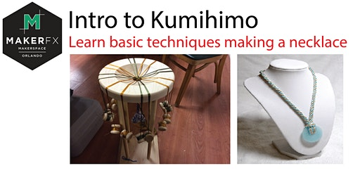 Intro to Kumihimo - Learn Basic Techniques Making a Necklace