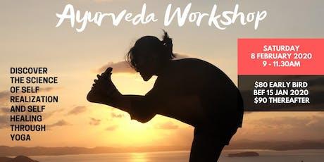 Ayuverda Workshop tickets