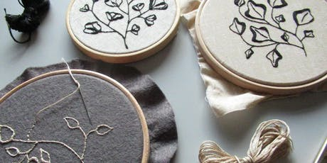 Botanical Embroidery at Object Style tickets