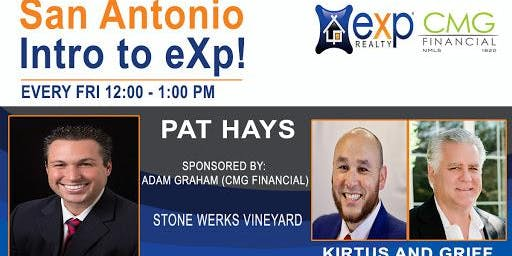 San Antonio Weekly Introduction to eXp Realty