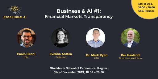 Financial Markets Transparency - Business & AI #1