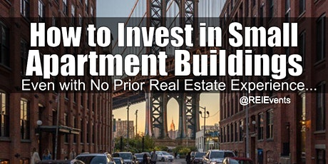 Replace Your Income with Small Apartment Investing - NY tickets