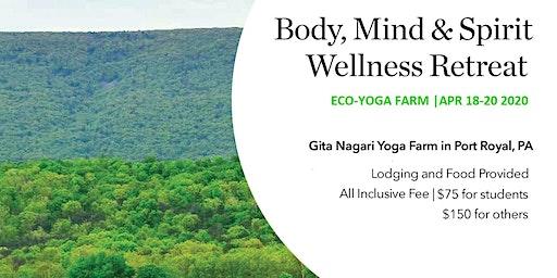 Body, Mind & Spirit Retreat at Eco Yoga Farm