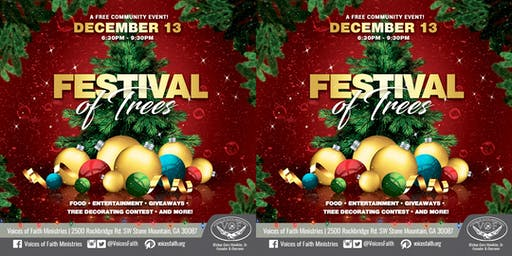 Festival of Trees-Voices of Faith Ministries
