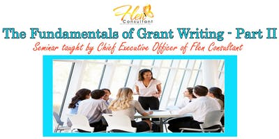 Fundamentals of Grant Writing Part II