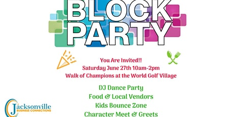 2nd Annual Community Block Party tickets