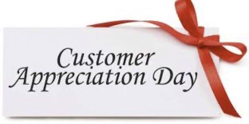 Customer Appreciation hour