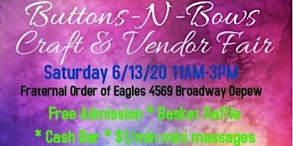 Buttons-N-Bows Craft & Vendor Fair