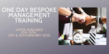 Bespoke Management Training - January 2020 tickets