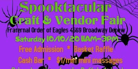 Spooktacular Craft & Vendor Fair