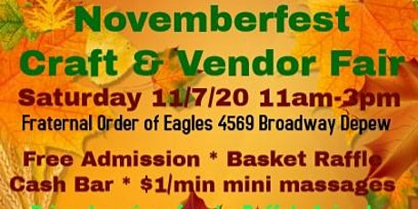 Novemberfest Craft & Vendor Fair tickets