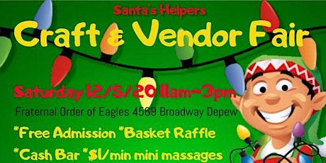 Santa's Helpers Craft & Vendor Fair tickets