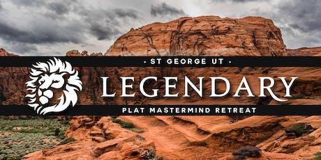 LEGENDARY MASTERMIND RETREAT - St George Jan 28-30 tickets