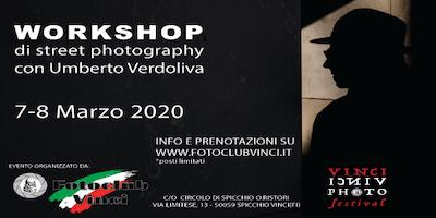Workshop StreetPhotography  con Umberto Verdoliva al Foto Club Vinci