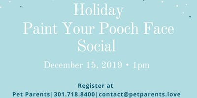 Holiday Paint Your Pooch **** Social