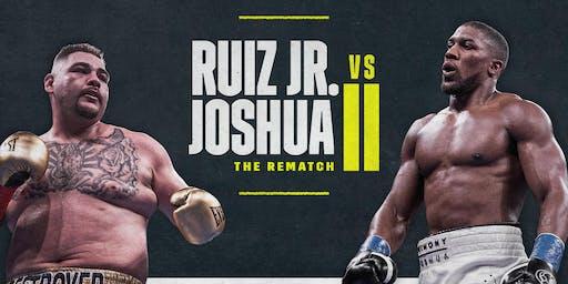 Boxing: Anthony Joshua v Andy Ruiz 2