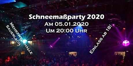 Schneemaß Party 2020 billets