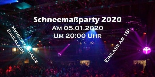 Schneemaß Party 2020