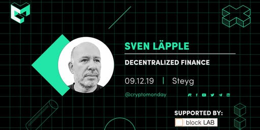 SPECIAL EVENT: Decentralized Finance in Zeiten von Negativzinsen