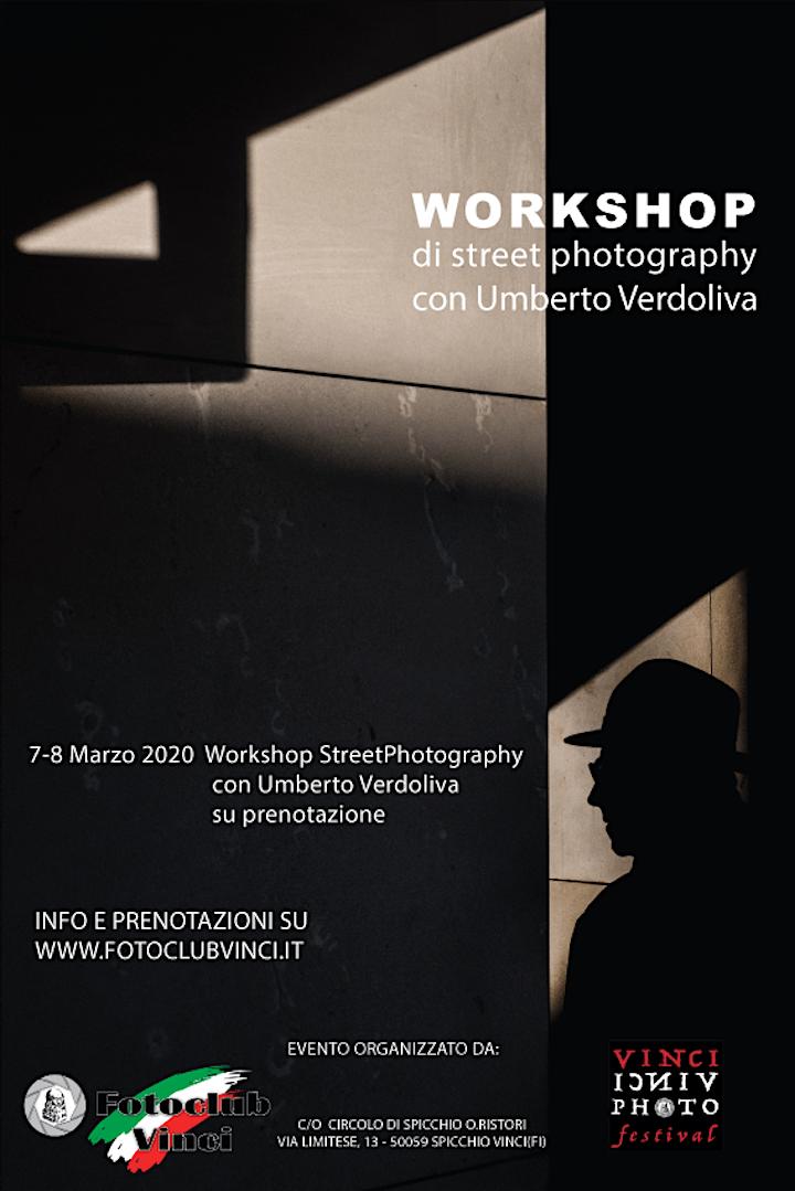 Immagine Workshop StreetPhotography  con Umberto Verdoliva al Foto Club Vinci