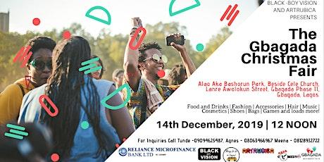 The Gbagada Christmas Market tickets