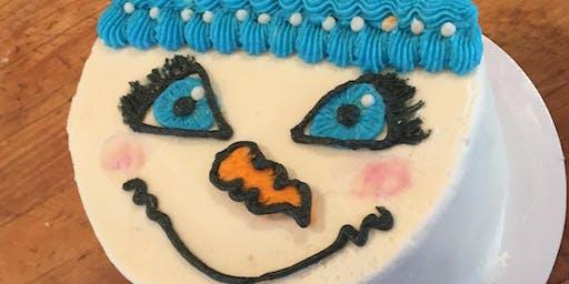 Cake Decorating Class:  Snow Man/Woman
