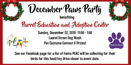 Traci's Paws December Paws Party tickets