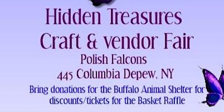 Hidden Treasures Craft & Vendor Fair tickets