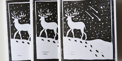 Sip and Print Holiday Cards