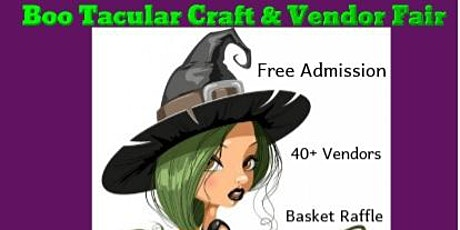 Boo Tacular Craft & Vendor Fair tickets