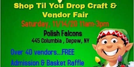 Shop Til You Drop Craft & Vendor Fair tickets