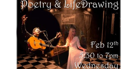 Poetry, Music & Life Drawing tickets
