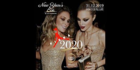 New year's Eve - ORO Restaurant Milano - 31 Dicembre biglietti