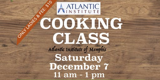 TURKISH COOKING CLASS ***DEC 7***ONLY LADIES***