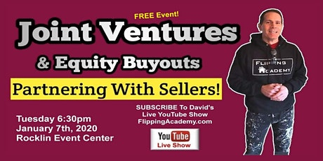 Joint Venture House Flipping - Partner With Sellers For Massive  Profit tickets